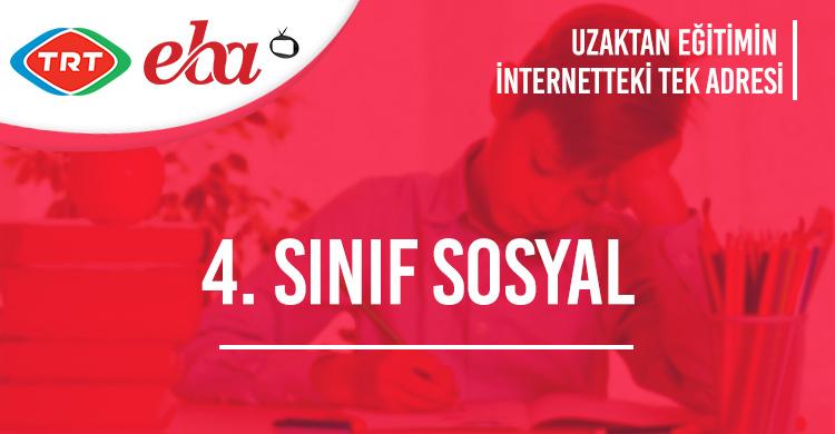 4. Sınıf Sosyal Bilgiler Konu Anlatımı