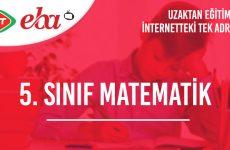5. Sınıf Matematik Konu Anlatımı