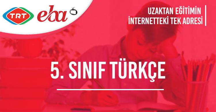 5. Sınıf Türkçe Konu Anlatımı