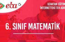 6. Sınıf Matematik Konu Anlatımı