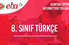 8. Sınıf Türkçe Konu Anlatımı