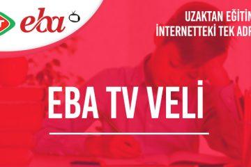 Eba TV Veli Kuşağı