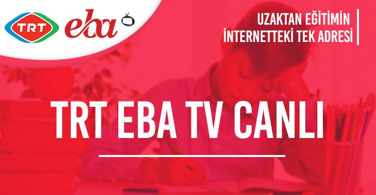 Trt Eba Tv Canlı