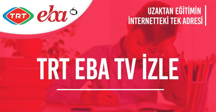 Trt Eba Tv İzle