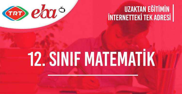 12. Sınıf Matematik Test Çöz